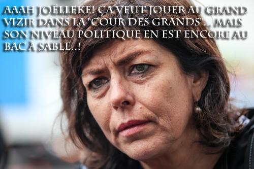 Joelle Milquet sinistre de l'Intérieur