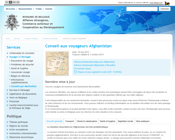 afghanistan safe?